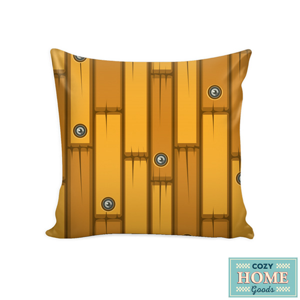 Amazing Cozy Home Goods Cartoon Wood Pillow Cover Interior Design Ideas Gresisoteloinfo